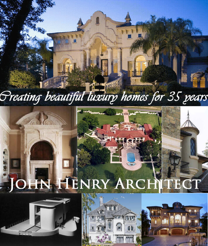 Beautiful Luxury Homes Castles Villas Chateau Mansions Architect John Henry