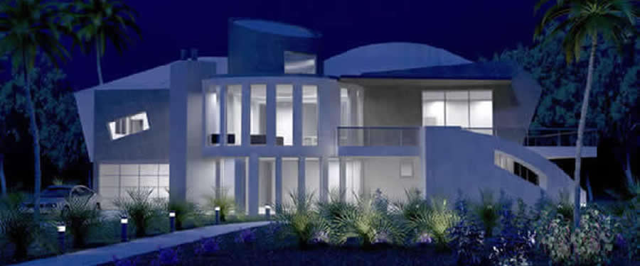contemporary luxury modern house design