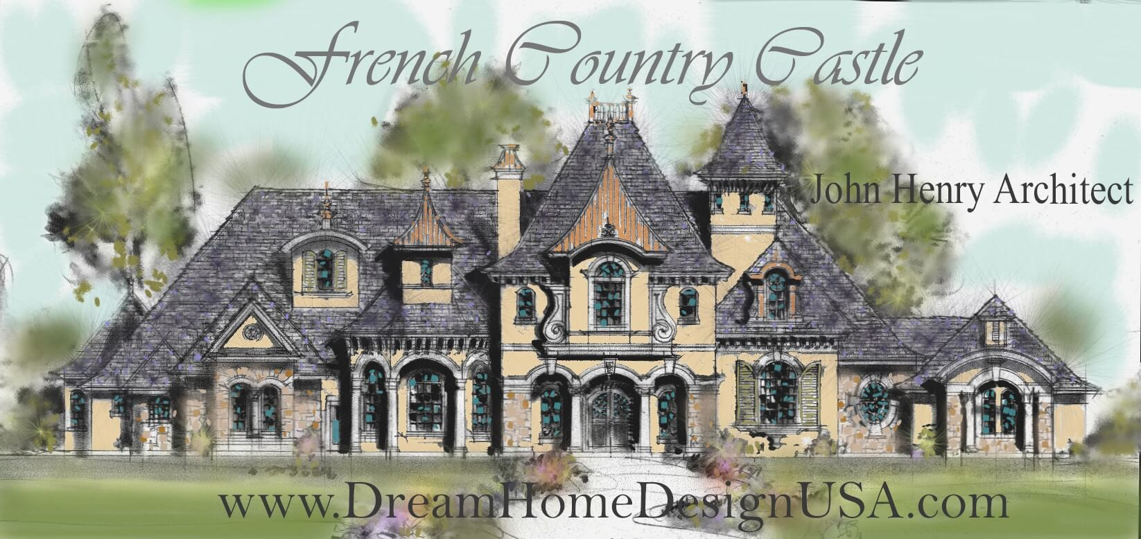 french country castle dreamhomedesignusa