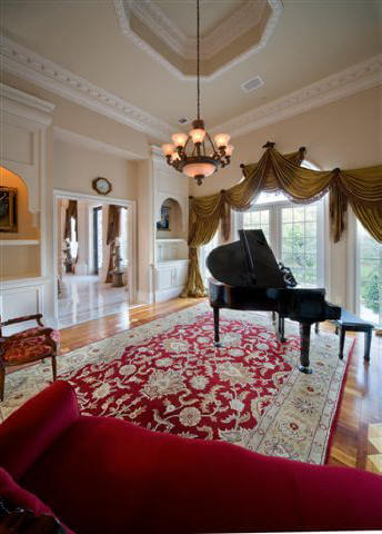 Luxury House Interiors In European And Traditional Mansion And Castle Styles